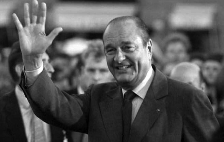 Décès de l'ancien président français Jacques Chirac