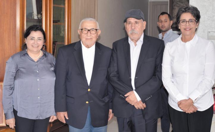 Abdelouahed Radi et Fatiha Sadass rendent une visite d'amitié à Noubir El Amaoui