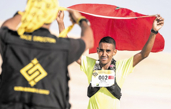 El Morabity et Langhran remportent l'Ultra Trail mirage d'El Djerid