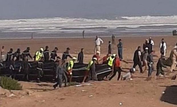 Naufrage de migrants au large de Casablanca