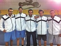 """Les """"Davis Cup men"""" marocains jouent leur maintien en zone Euro-Afrique/Groupe II : Un grand défi: battre la bande à Baghdatis"""