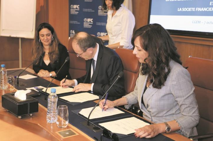 Signature d'un mémorandum d'entente entre l'IFC et la CGEM
