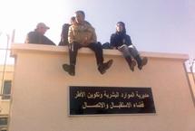 El Ouafa promet une solution pour le 1er mars : Les diplômés chômeurs menacent de s'immoler par le feu