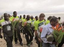 Recueillement et émotion pour la Zambie en souvenir du crash de 1993