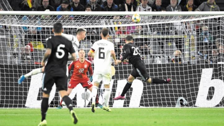 L'Argentine arrache le nul contre l'Allemagne en amical