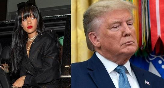 """Pour Rihanna, Trump est """"la personne la plus malade mentalement aux Etats-Unis"""""""