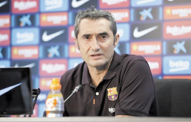 """Clasico au Camp Nou : Valverde a """"confiance"""" malgré les violences"""