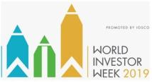 """L'AMMC participe à la """"World Investor Week"""""""
