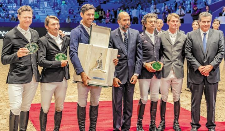 MRT de saut d'obstacles Roberto Torchito s'adjuge le Grand Prix S.M le Roi Mohammed VI