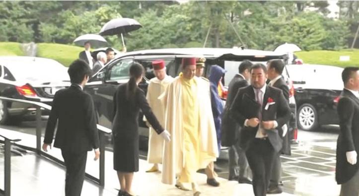 SAR le Prince Moulay Rachid représente S.M le Roi à la cérémonie d'intronisation du nouvel empereur du Japon