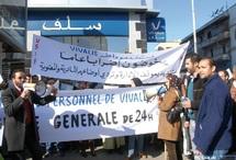 Débrayages et manifestations au menu : Le ras-le-bol du personnel de Vivalis