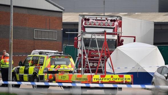 39 corps découverts dans un camion à Londres