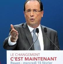 Présidentielles françaises : Hollande se présente comme le président de la sortie de crise