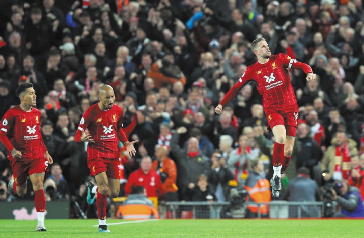 Premier League : Liverpool répond toujours présent