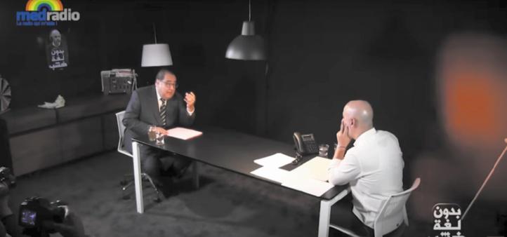 Intervenant dans le cadre de l'émission «Sans langue de bois» de Med-Radio