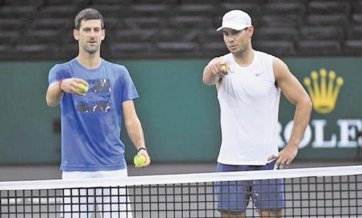 Nadal-Djokovic : Le calme avant la tempête