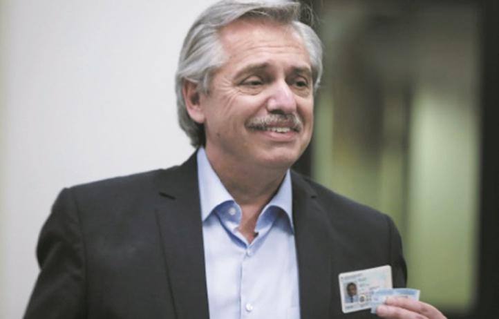 Le modéré et discret Alberto Fernandez