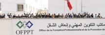 Les formateurs contractuels poursuivent leur mouvement : Le siège de l'OFPPT occupé par les grévistes