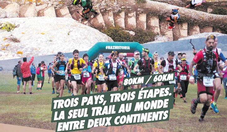 Coup d'envoi de la 5ème édition de l'Eurafrica Trail à Belyounech