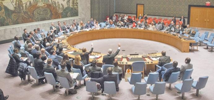 Le Conseil de sécurité cloue les séparatistes au pilori