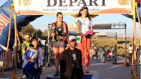 Aitmasri Hafid et Lodder Farah remportent le 16ème Sahara Trail de Zagora