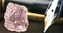 Découverte d'un énorme diamant rose en Australie