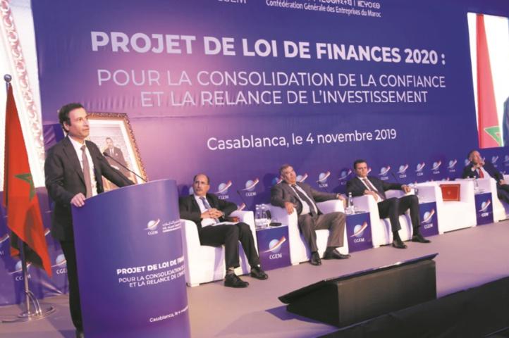 La CGEM échange avec Abdelouafi Laftit et Mohamed Benchaâboun sur le PLF 2020