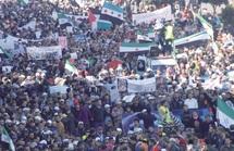 30.000 manifestants battent le pavé à Casablanca : Pour que cesse l'effusion de sang en Syrie