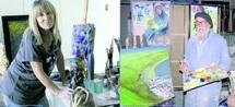 Exposition de peinture et sculpture à Agadir  : Un hommage de Chantal Tronquit Ballester et Abdallah Aourik à leur ville natale