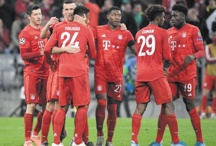 Ligue des champions : PSG, Bayern et Juventus, les premiers qualifiés