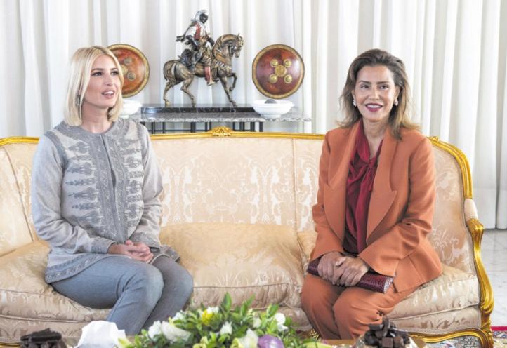 Ivanka Trump au Maroc pour promouvoir son initiative de développement économique des femmes
