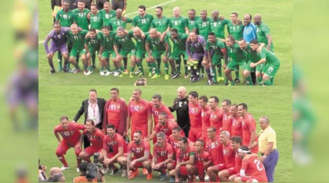 Match de gala à Laâyoune : Des légendes du ballon rond célèbrent la Marche Verte
