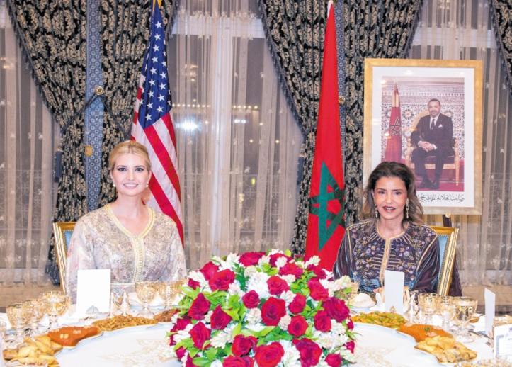 S.A.R la Princesse Lalla Meryem préside un dîner offert par S.M le Roi en l'honneur d'Ivanka Trump