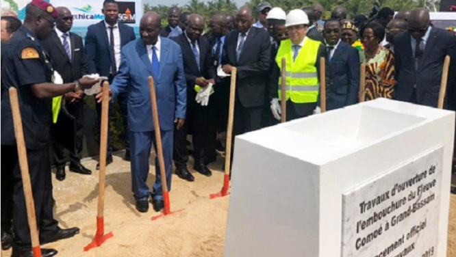 Le marocain SGTM entame la réalisation d'une embouchure aux environs d'Abidjan