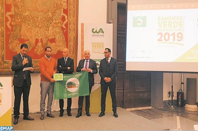 Une entreprise marocaine remporte le prix de l'agriculture méditerranéenne en Italie
