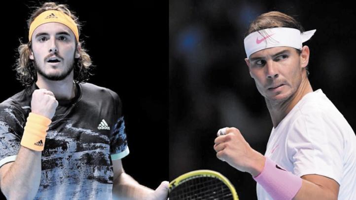 Tsitsipas en demie, Nadal toujours en vie au Masters de Londres