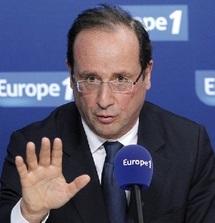 Présidentielle française : Hollande veut des changements de fond du traité de l'UE