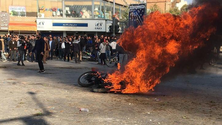 Violentes émeutes en Iran