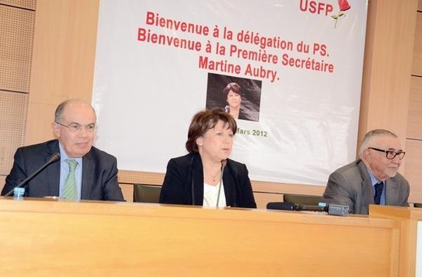 """Entretien avec Martine Aubry, Première secrétaire du PS : """"Au Maroc, la réforme constitutionnelle doit rentrer en pratique"""""""