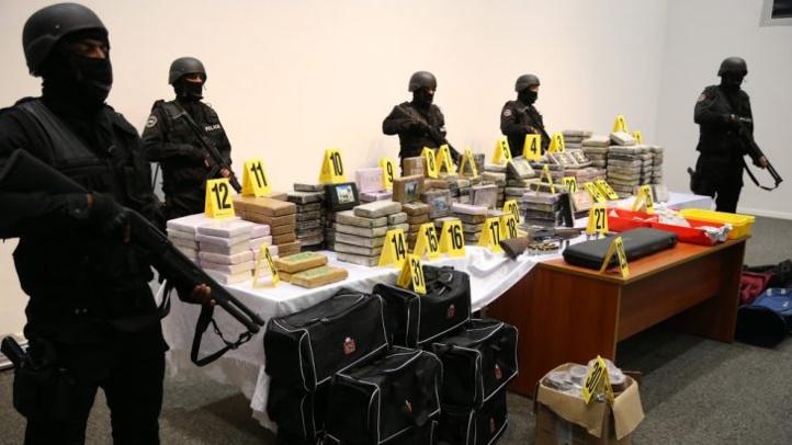 Saisie de 476 kg de cocaïne dans un appartement à Harhoura
