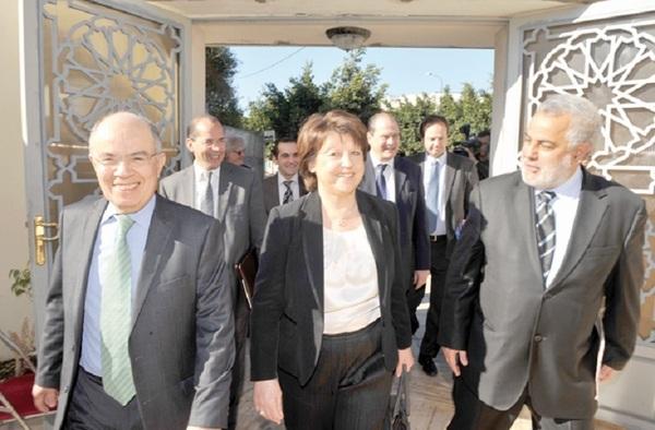 La visite d'Aubry vue par le site du PS : La campagne présidentielle se déplace au Maroc !
