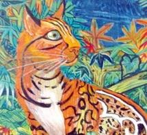"""Claudine Suret-Canale expose ses toiles à la galerie «Artingis» : """"Couleurs de printemps"""" à Tanger"""