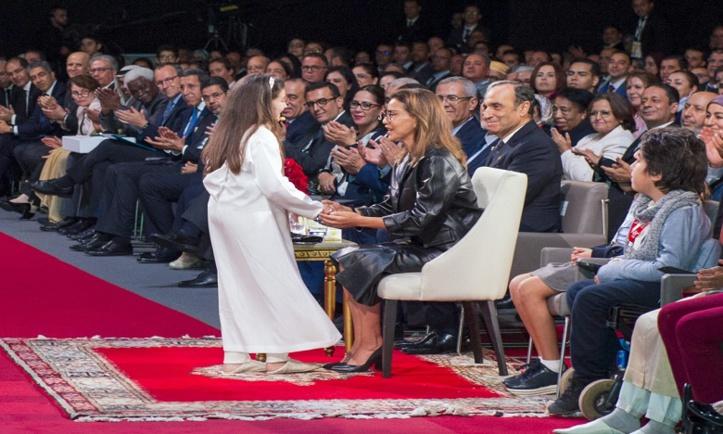S.A.R la Princesse Lalla Meryem préside  la signature d'un engagement au Pacte  national pour l'enfance à l'horizon 2030