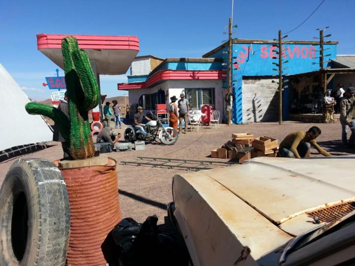 Les tournages se suivent et se ressemblent à Ouarzazate.  Enfin, pas tous.