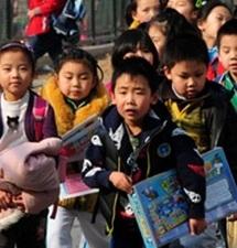L'éducation à la dure des enfants remise en cause en Chine