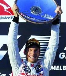 F1: Jenson Button remporte le Grand Prix d'Australie