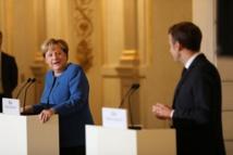 Merkel défend l'Otan face aux critiques de Macron