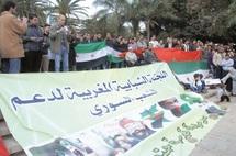 Malgré les manigances des autorités locales : Nouvelle manifestation de soutien au peuple syrien à Casablanca