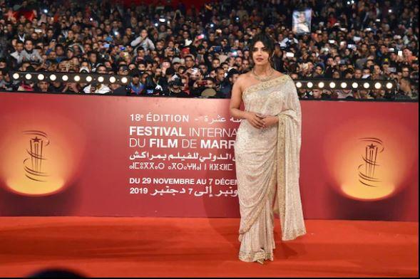 Priyanka  Chopra  célébrée  à la mythique  Place Jemaa  El Fna