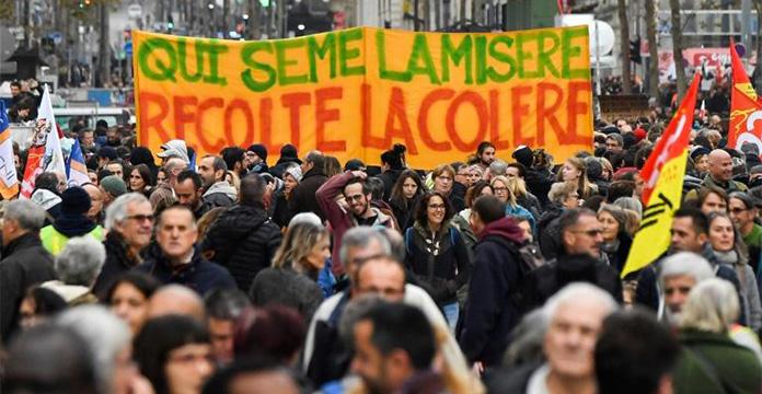 La France plonge dans une nouvelle journée de grèves